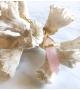 Collier bohème BAHIA Howlite Rose Gold