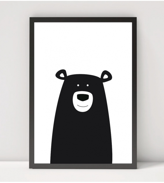 "Affiche ""BLACK BEAR"""