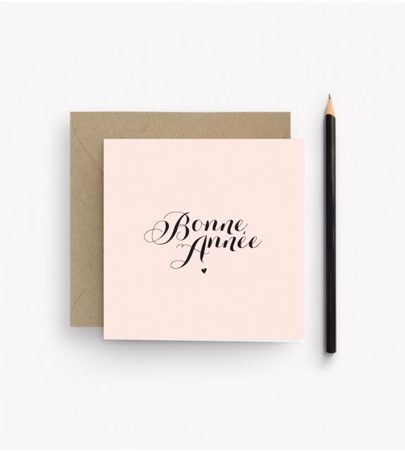 """Carte """"BONNE ANNEE"""""""