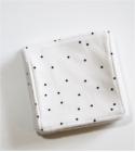 Lingettes démaquillantes lavables Plumetis