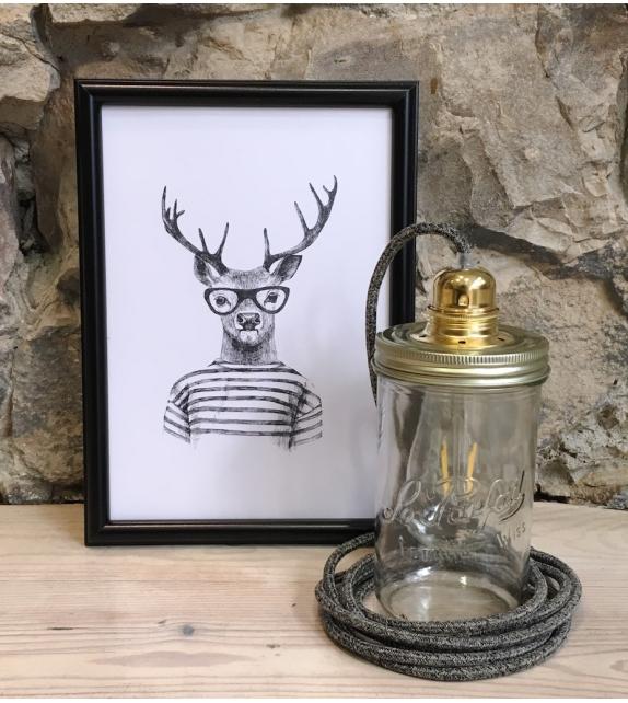 Lampe Baladeuse Noire